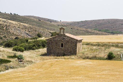 Chapel, Romanesque Church, Rustic, Building, Church