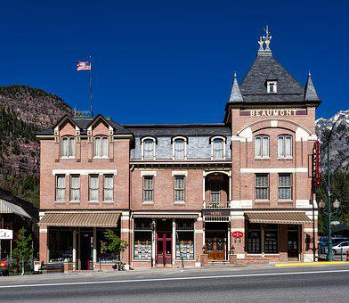 Beaumont Hotel, Ouray, Colorado, Town, City, Urban