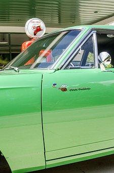 Antique Gas Pump, Classic Car, Muscle Car, Vintage