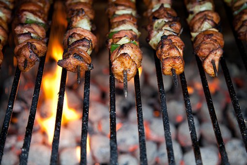 Barbecue, Bbq, Beef, Chicken, Cooking, Dinner, Fire