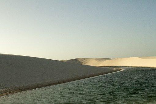 Water, Nature, Stone, Horizon, Environment, Sol, Desert