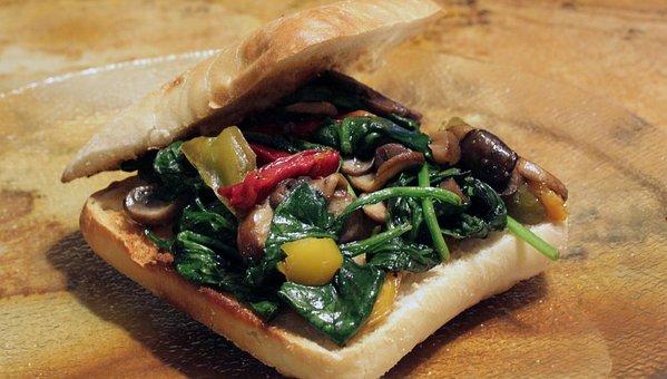 Spinach, Brie, Mushroom, Cheese, Cuisine, Diet, Dinner