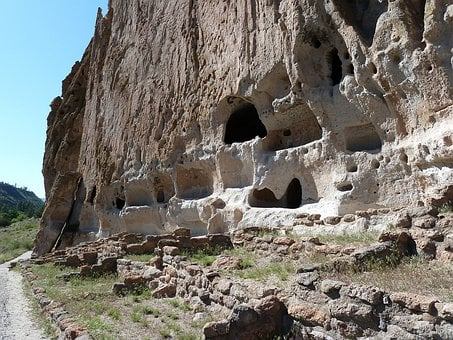 Cliff, Dwelling, Bandelier National Monument