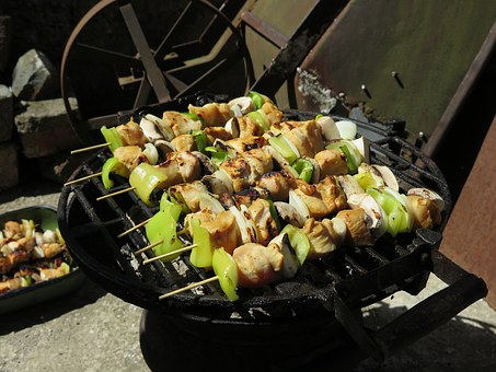 Bbq, Veggies, Food, Barbecue, Fresh, Vegetable, Healthy