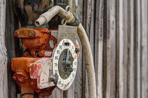 Pump, Gas, Gasoline, Petrol, Service, Station, Antique