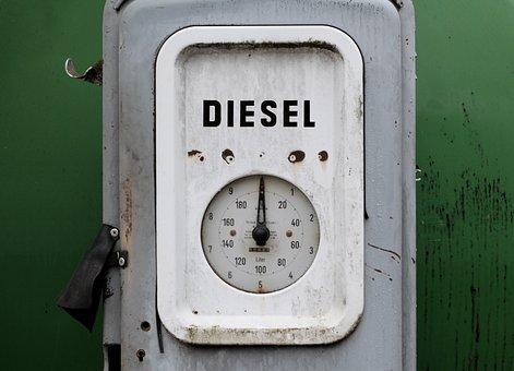 Diesel, Fuel Gauge, Petrol Stations, Refuel, Gas Pump