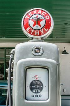 Antique Gas Pump, Vintage, Retro, Gas Station, Gas