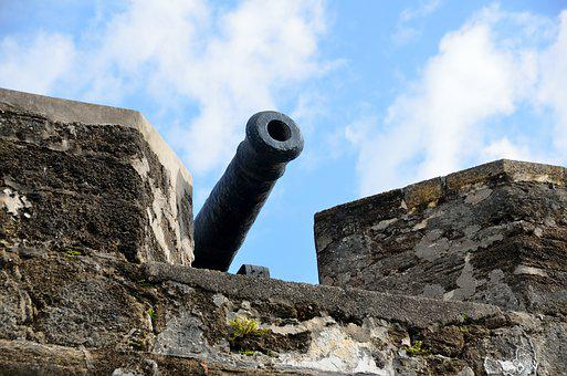 Cannon, Fortress, Castle, Old, Fort, Architecture, Gun