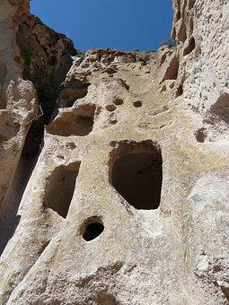 Cliff Dwelling, Rock, Limestone, Heritage