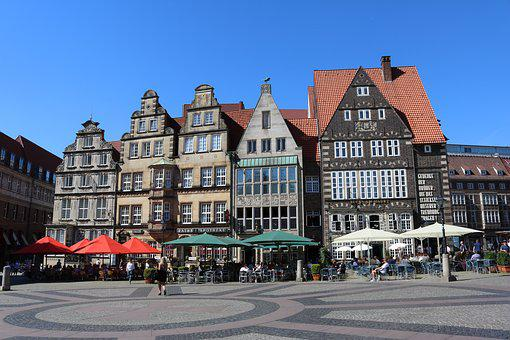 Bremen, Marketplace, Old Town, Historic Home