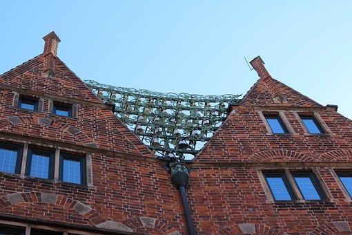 Bremen, Hooper Street, Glockenspiel, Old Building