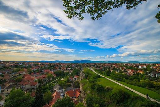 Landscape, Cityscape, House, City, Sky, Town, Urban