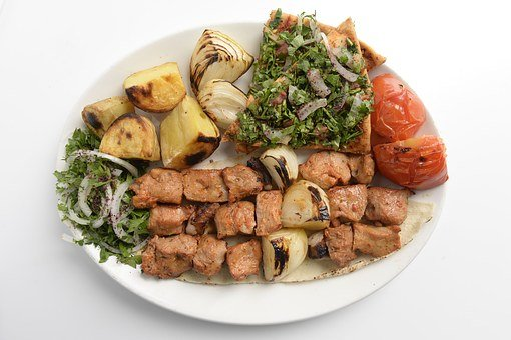 Food, Lebanese, Chicken, Kebab, Meat, Grilled, Lebanon