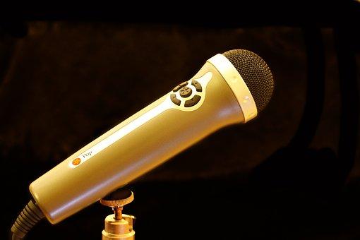 Micro, Microphone, Recording, Audio, Music, Sound