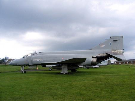 Aircraft, Military, Phantom, Jet, Fighter, Airfield