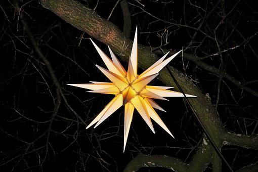 Moravian Star, Christmas, Shining Star, Advent