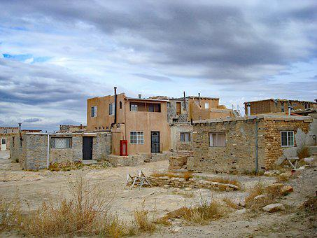 Sky City Cultural Center, New Mexico, Ancient, Ruins