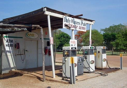 Petrol Stations, Daly Waters Pub, Outback, Australia