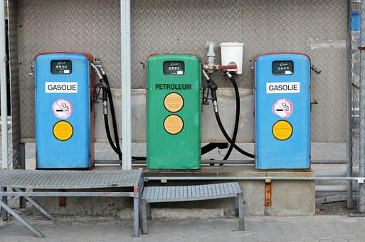 Mack, Petrol, Pump, Petrol Station