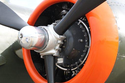 Propeller, Hub, Prop, Aircraft, Blade, Radial, Wright