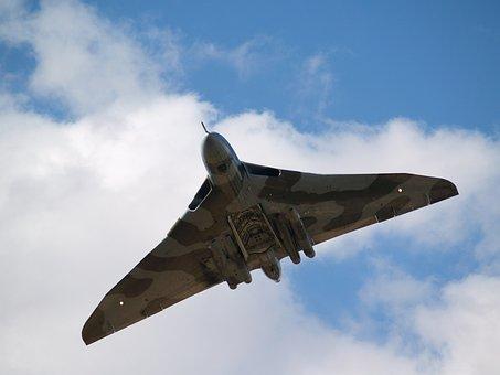 Vulcan, Bomber, Aircraft, Aeroplane, Raf, Plane, Jet