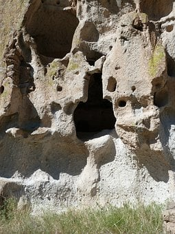 Cliff Dwelling, Rock, Limestone