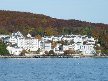 Sassnitz, Rügen, White Cliffs, Cliffs, Baltic Sea, Sea