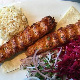 Chicken, Shish, Kebob, Mediterranean, Russian, Barbecue