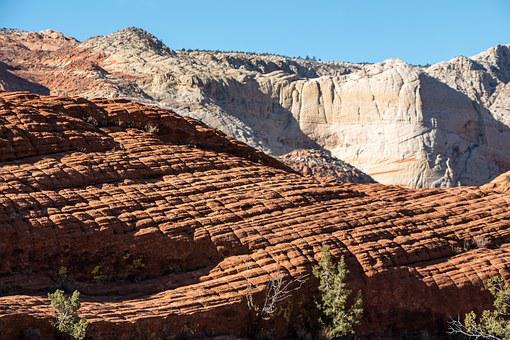 Snow Canyon, Utah, Sandstone, Limestone, Wind
