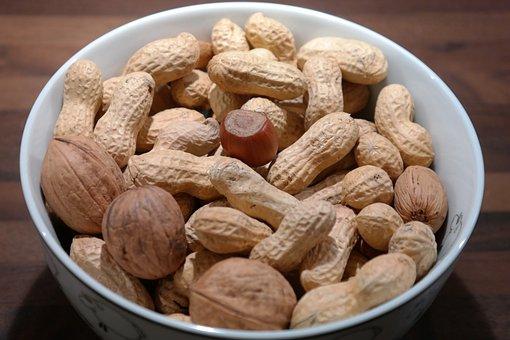 Nuts, Peanuts, Walnuts, Hazelnut, Shell, Eat, Snack