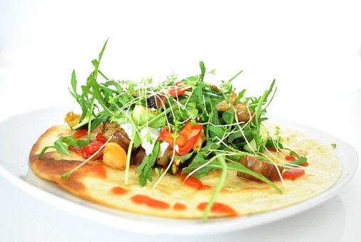 Tortilla, Mexican, Tomatoes, Salad, Meal, Bread, Food