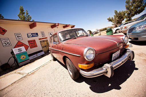 Usa, Holiday, Road Trip, Nevada, California, City