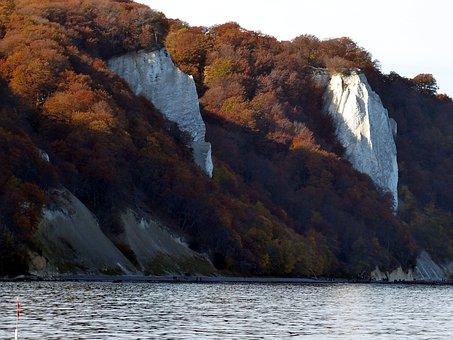 Rügen, White Cliffs, Cliffs, Baltic Sea, Sea