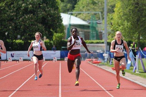 Anyika Onuora, 100 Metre, Women, Running, Finishing
