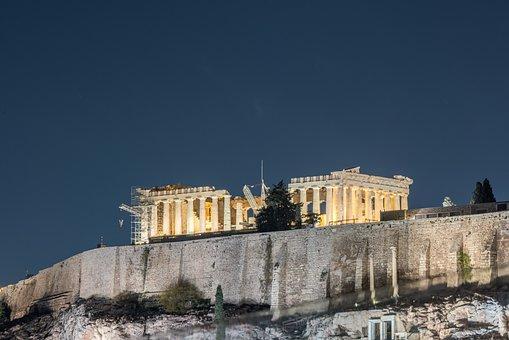 Acropolis, Athens, Architecture, Ancient, Famous