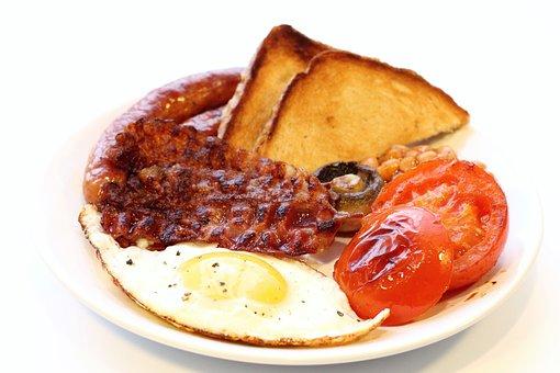 Eating, Breakfast, Bacon, English Breakfast, Cooking