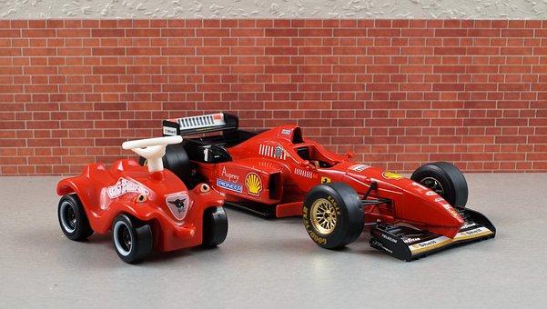 Ferrari, F310, Formula 1, Bobby Car, Michael Schumacher