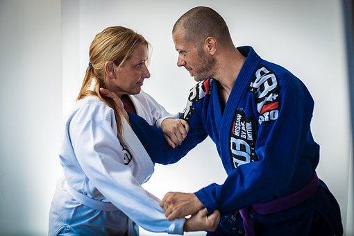 Brazilian Jiu Jitsu, Bjj, Male, Female, Brazilian