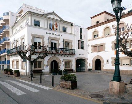 City Hall, Sant Pol, Maresme, Mediterranean, Building