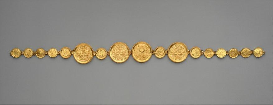 Gold, Coin, Belt, Money, Rich, Sign, Financial, Metal
