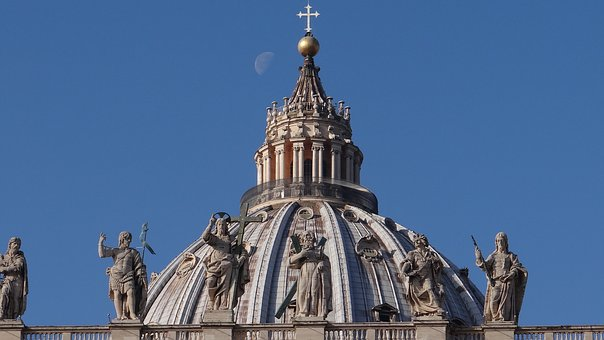 St Peter's Dome, Vatican, Rome, Domed Church