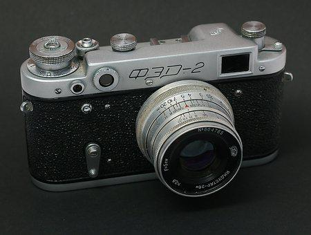 Photo, Fed, Vintage, Camera, Technique, Old Camera