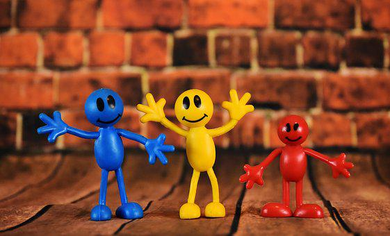 Smilies, Males, Colorful, Cute, Figures, Smiley