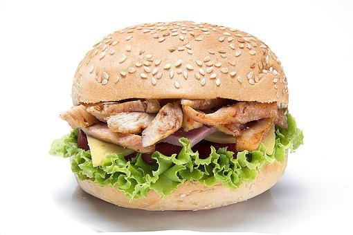 Kebab, Sandwich, Pork, Food, Fast, Meal, Lunch, Meat