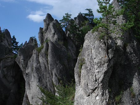 The Súľov Rocks, Slovak Republic, Landscape