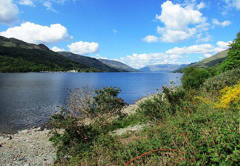 Scotland, Loch Earn, Lake, Scottish, Scenery, Highlands