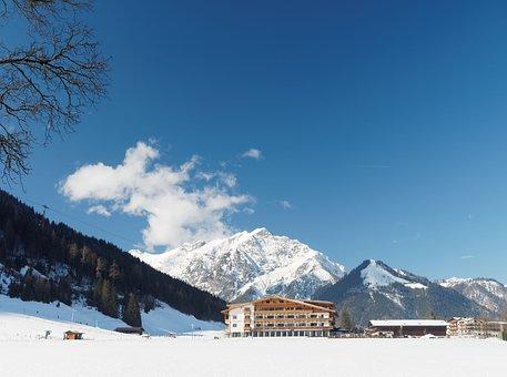Pertisau, Austria, Alps, Mountain, Snow, Holiday, Tyrol
