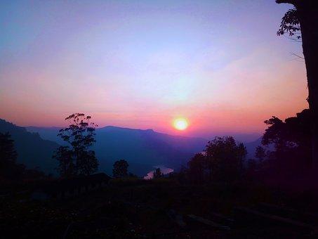 My Village, Photo, Sunset, Water, Nature, Travel