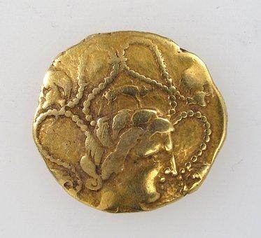 Gold, Coin, Greek, Money, Rich, Sign, Financial, Metal