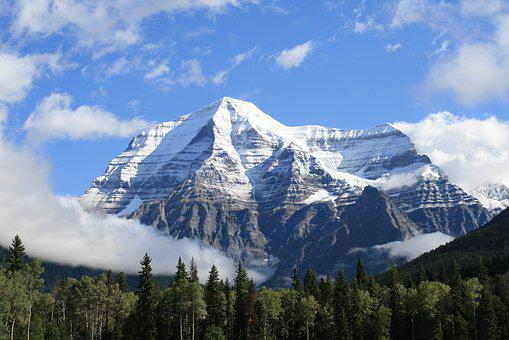 Nature, Landscape, Travel, Scenery, Mount Robson